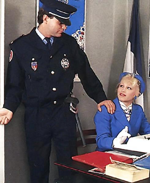 Naughty police porn