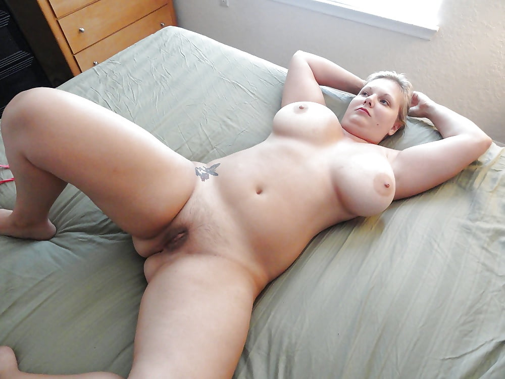 Chubby blonde naked
