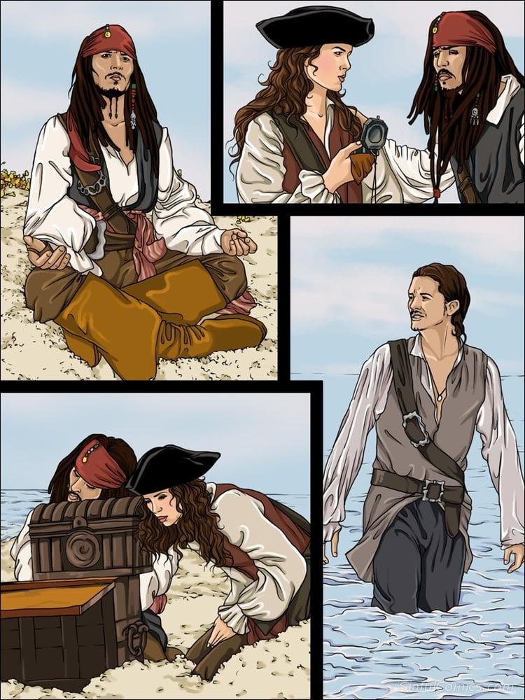 Porn movie pirates of the caribbean