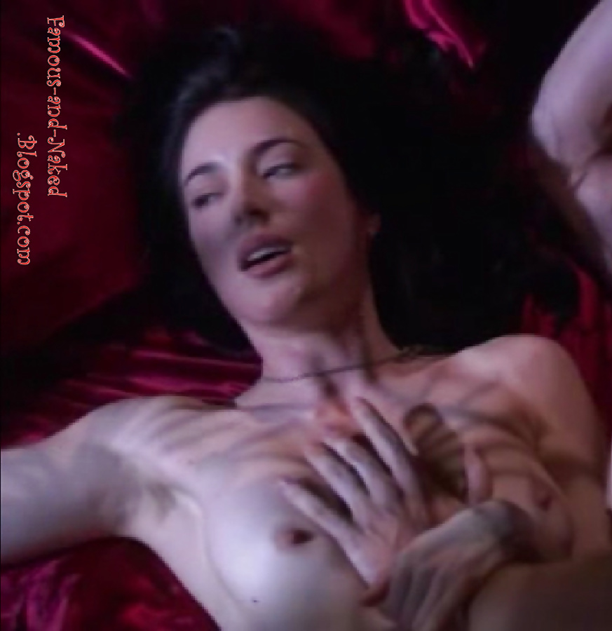 Lucy Lawless Threesome In Spartacus Series