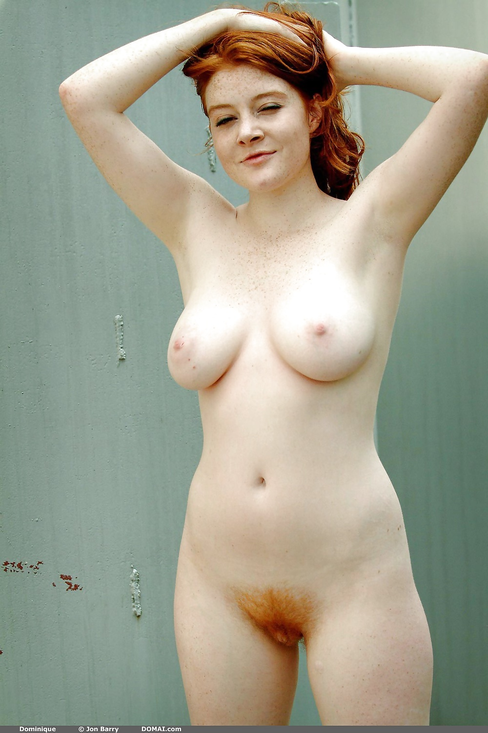 Ginger pubes naked girl, live and sex