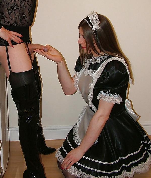 Popular Bondage French Maid Executrix Mistress And