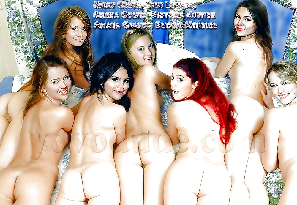 Nickelodeon girls posing for nude picture — 9