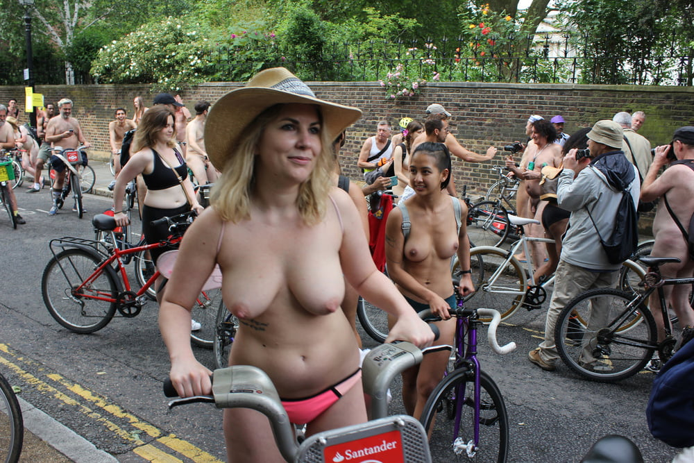World Naked Bike Ride Launches Again
