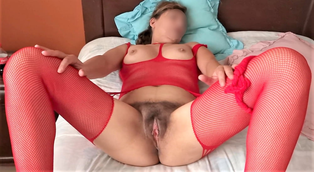 My hairy wife, watch her videos too