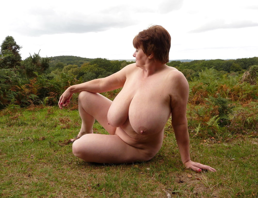 Big breasted mature women nude
