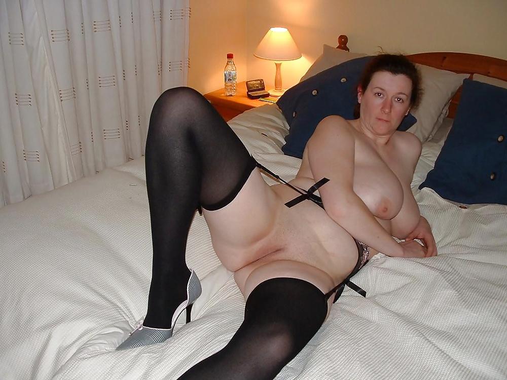 Large mature natural tit