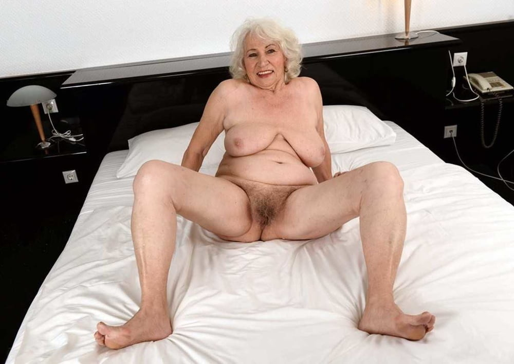 Mature grey haired women nude