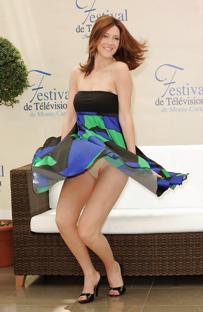 French Actress Sandra Lou Upskirt