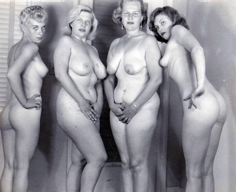Retro mature naked ladies
