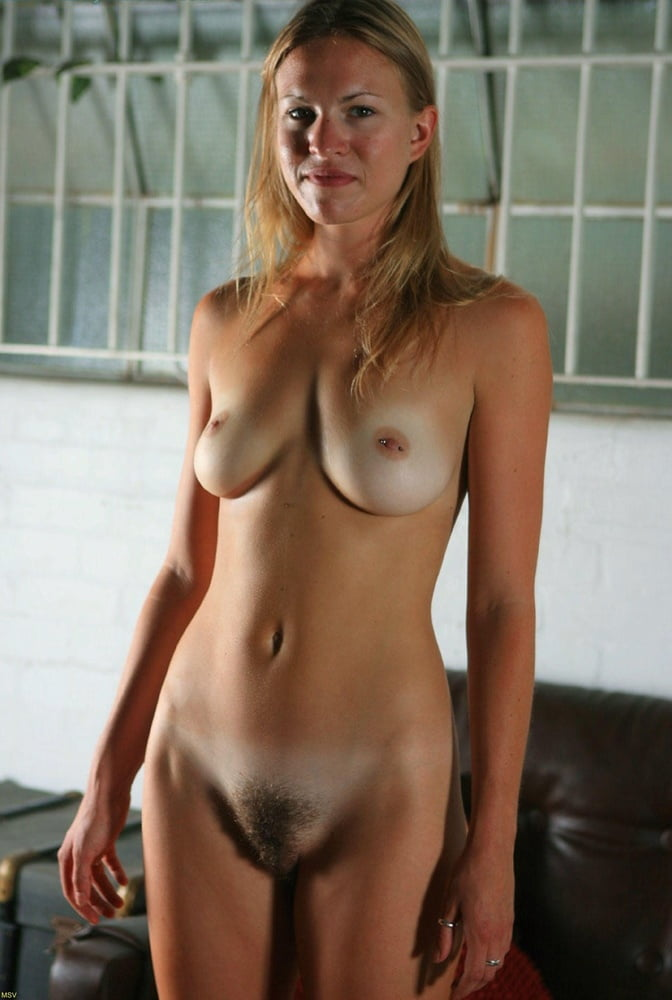 Amateur tan lines nude blonde curly hair