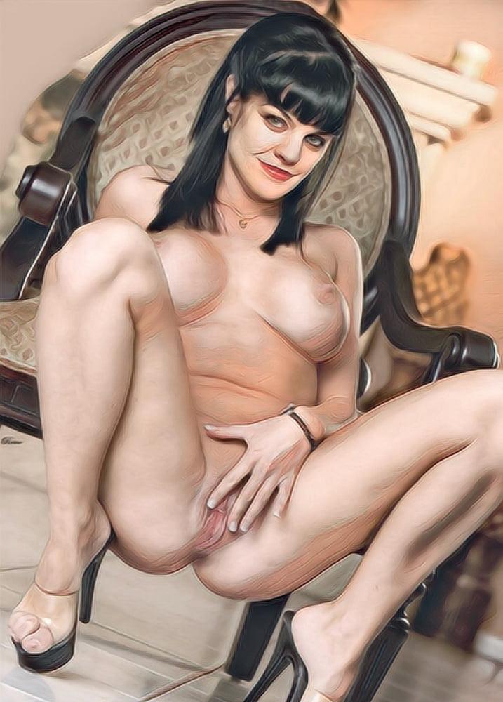 Pauley perrette boobs sex xxx porn tits pussy pics