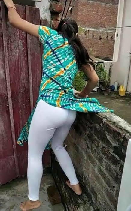 Indian ass in salwar