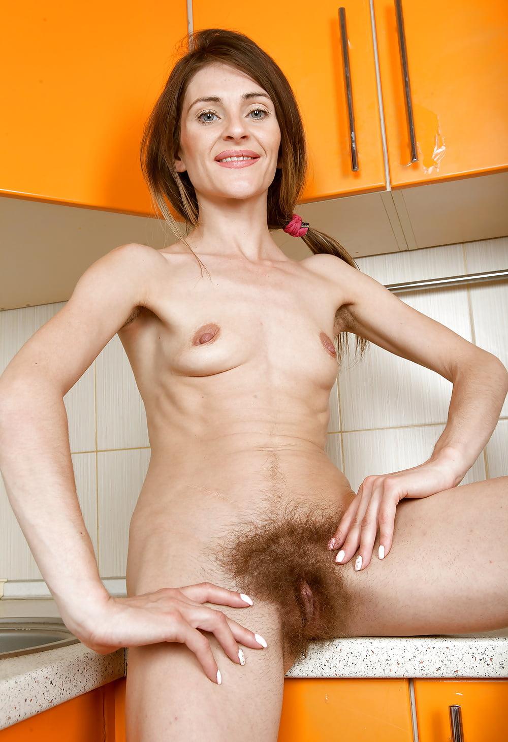 Skinny mature hairy nude