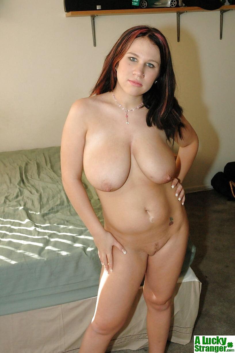 Yoga with nude girl