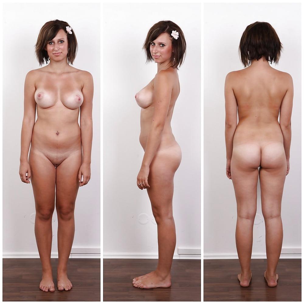 Frauen nackt angezogen bilder