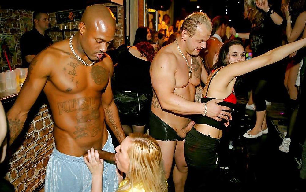 Drunk Women Go Crazy For Big Black Male Stripper