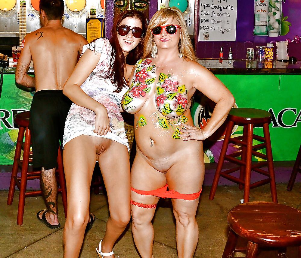 Key west ogles nude beach