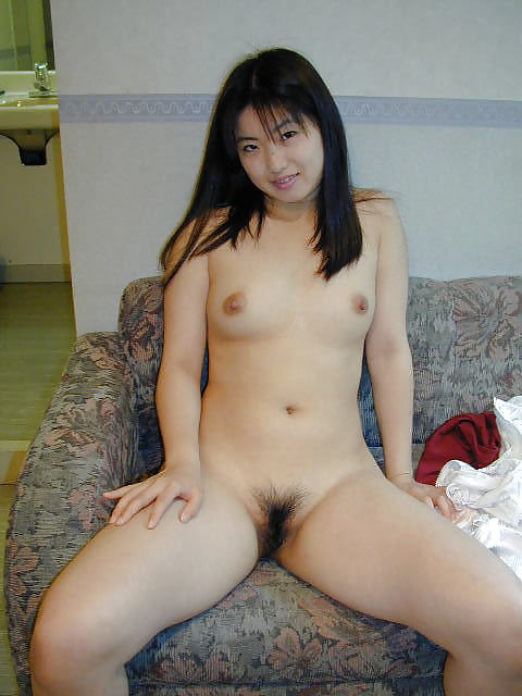 Japanese girl uses toy-4564