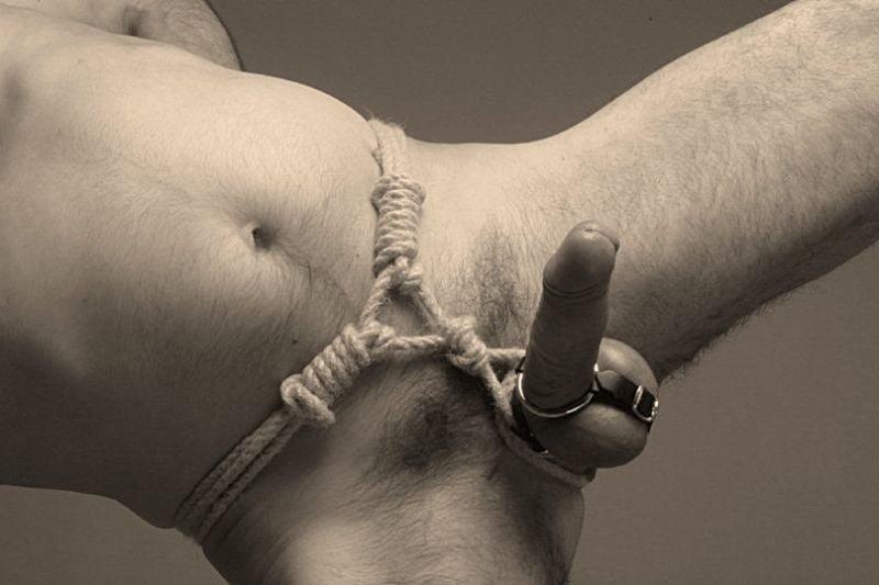 Секс бандаж для мужских гениталий начинающих фото