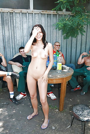 Wife nude with friends