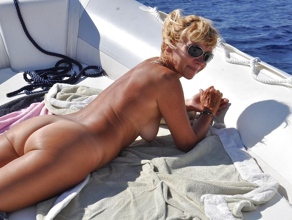 Nude beach courage