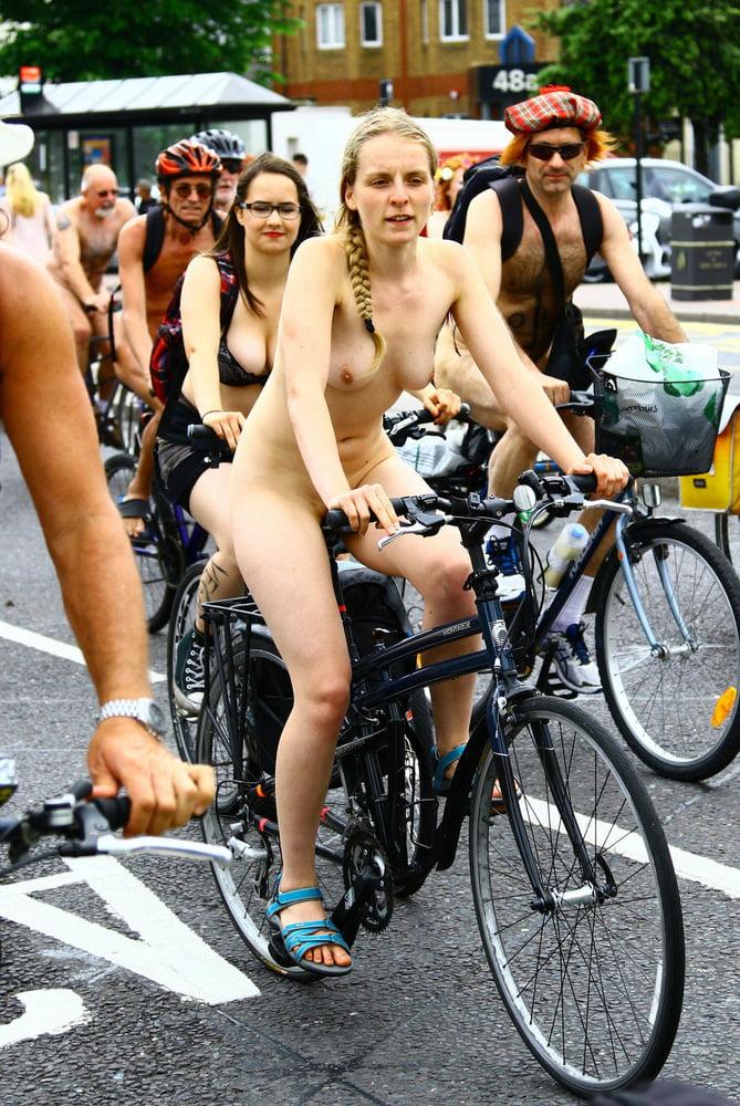 Celebrity Brighton Nude Bike Ride HD