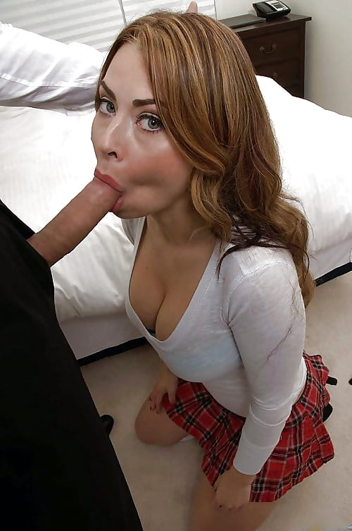 Stepmother caught dillion harper sucking dick and decided to join