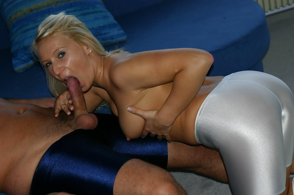 Excellent idea. i fucked her in spandex