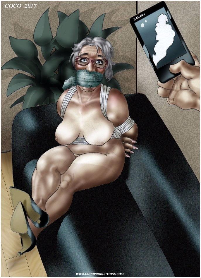 Bondage comics xxx