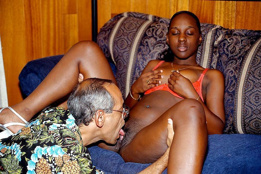 Old young ebony lesbians