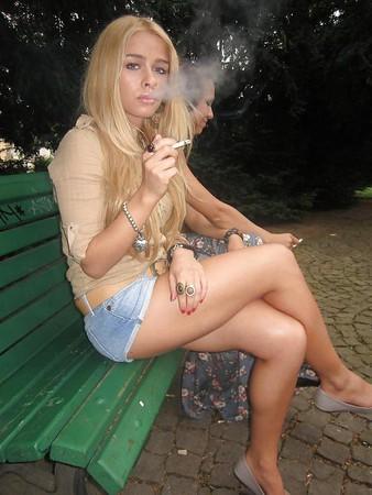 Smoking sluts 14