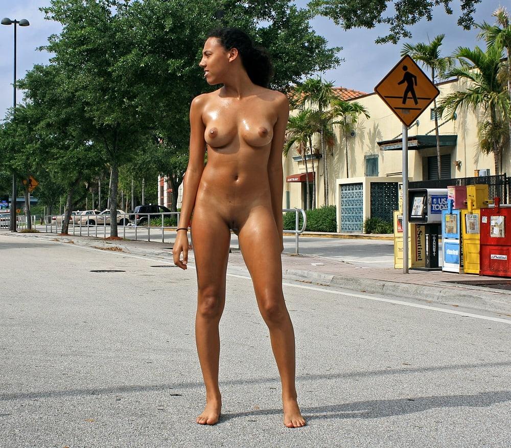 Latin Milf Nude In Public