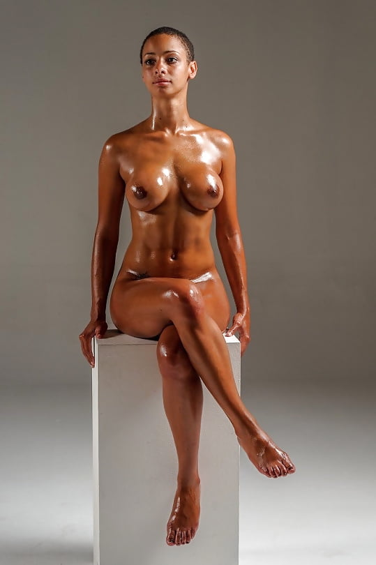 black-oily-boobs-nude