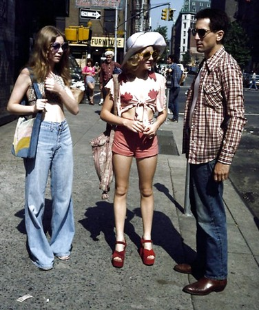 Street whores. American working girls