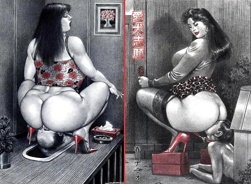 Big booty black cartoon-1332