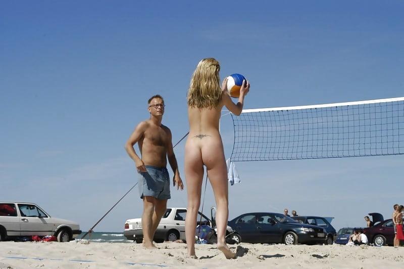 Public beach nude sex