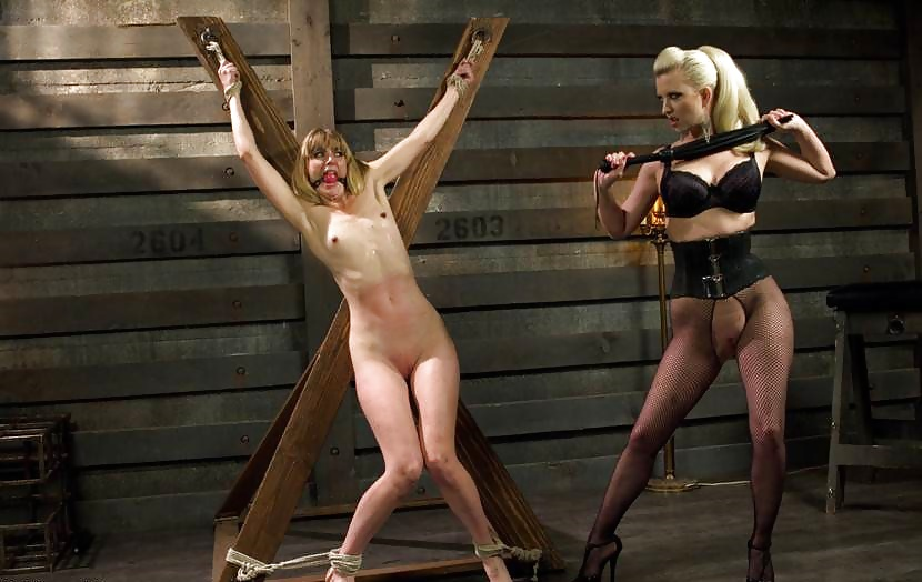 Bondage Slave Girl Whipped By Master And Begs For More
