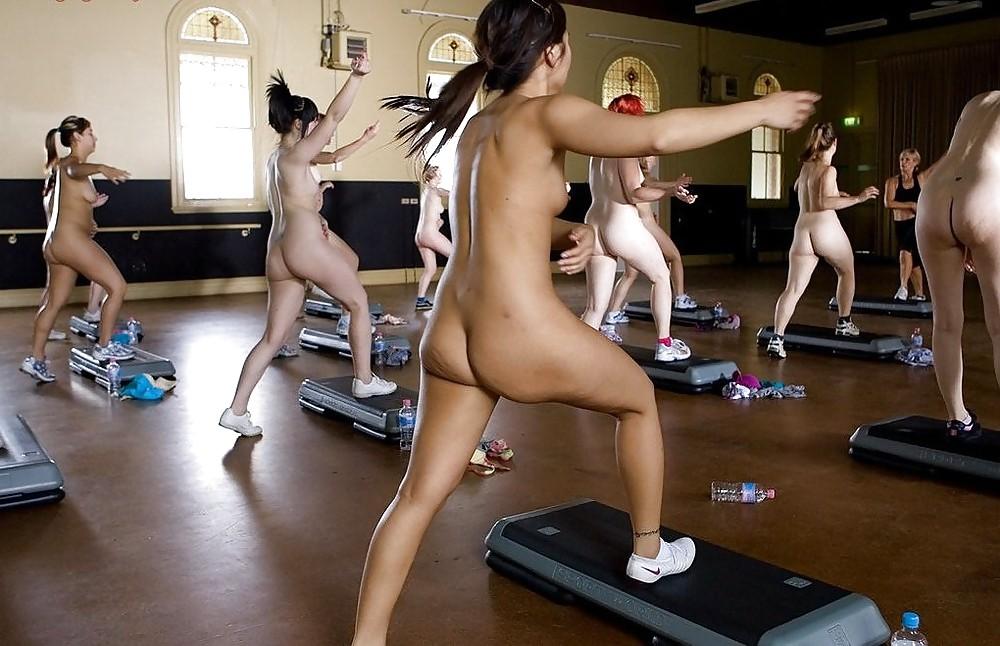 Teens Gym Shower Girl