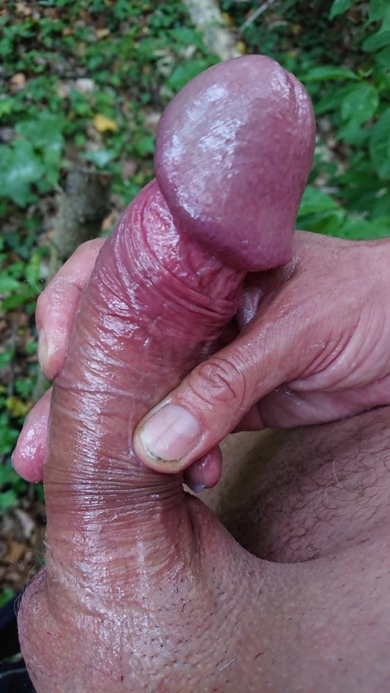 Steifer penis nackt
