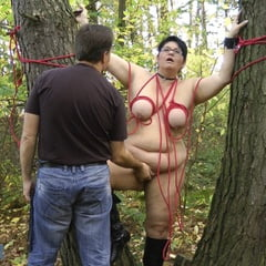 Outdoor SPANKING In The Forest