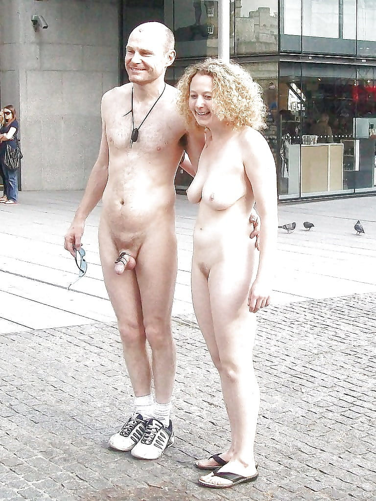 Old people caught naked
