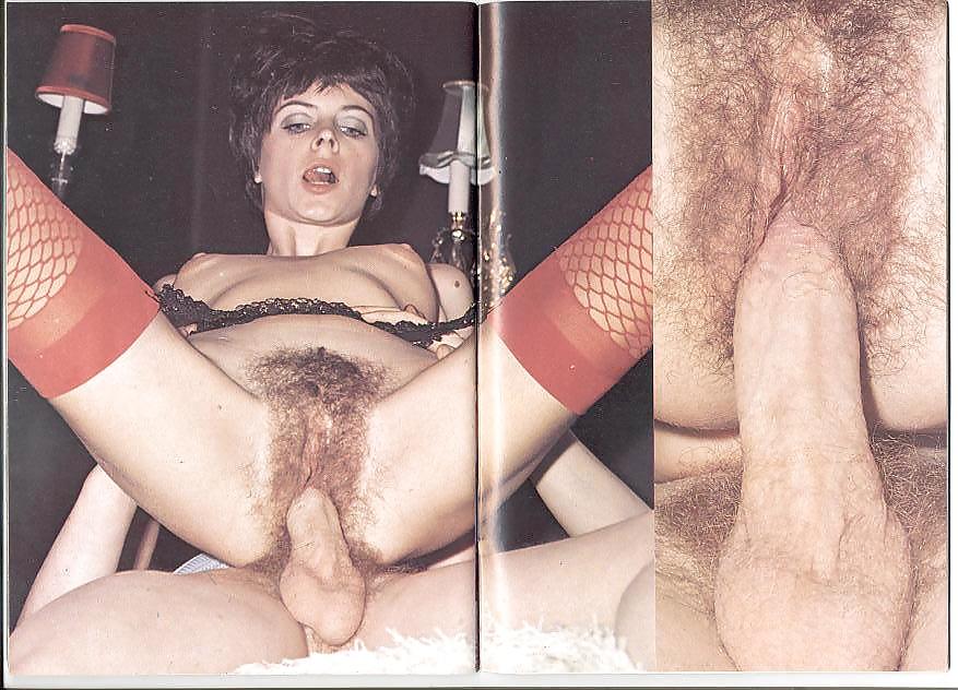 Порно из старых журналов