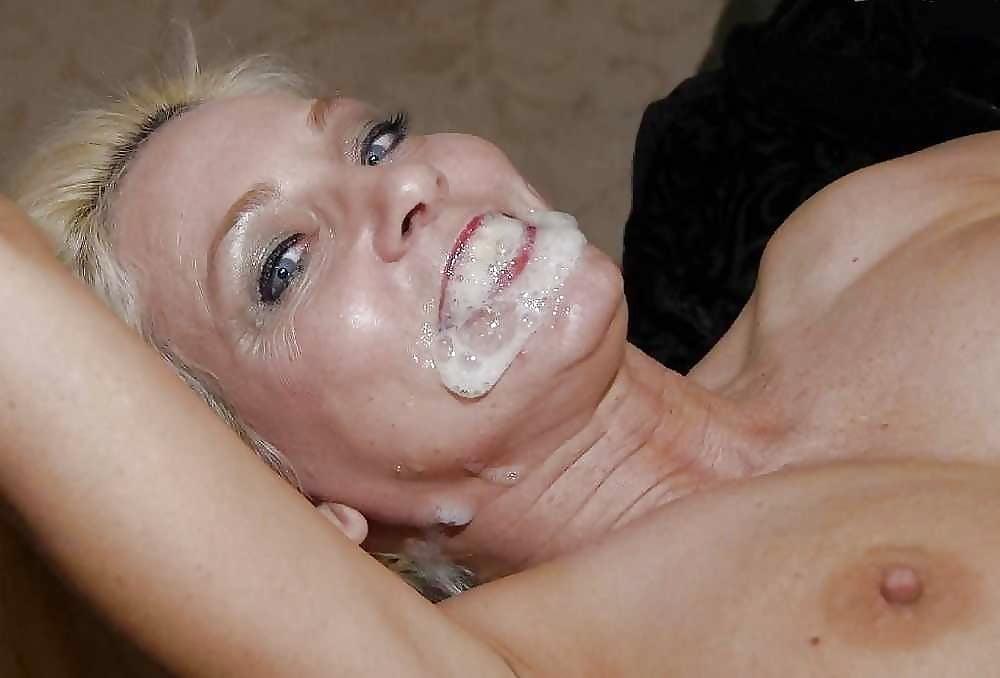Cum on moms face porn pics