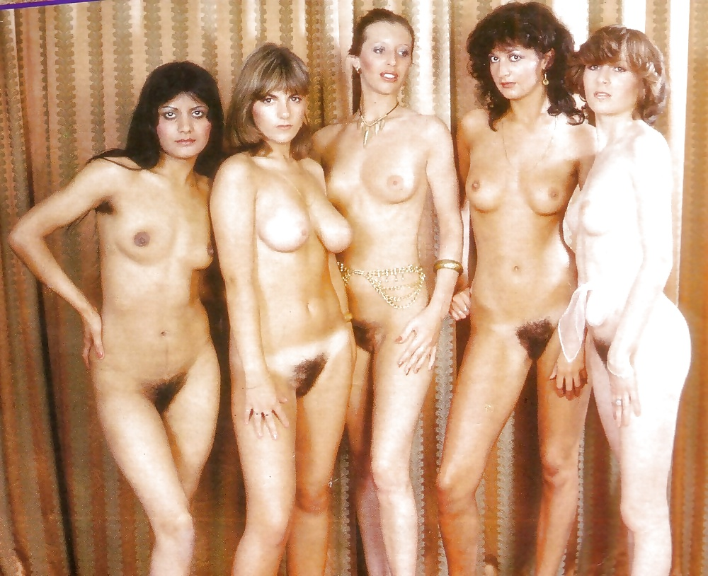 Ретро групповое фото голых женщин — pic 15
