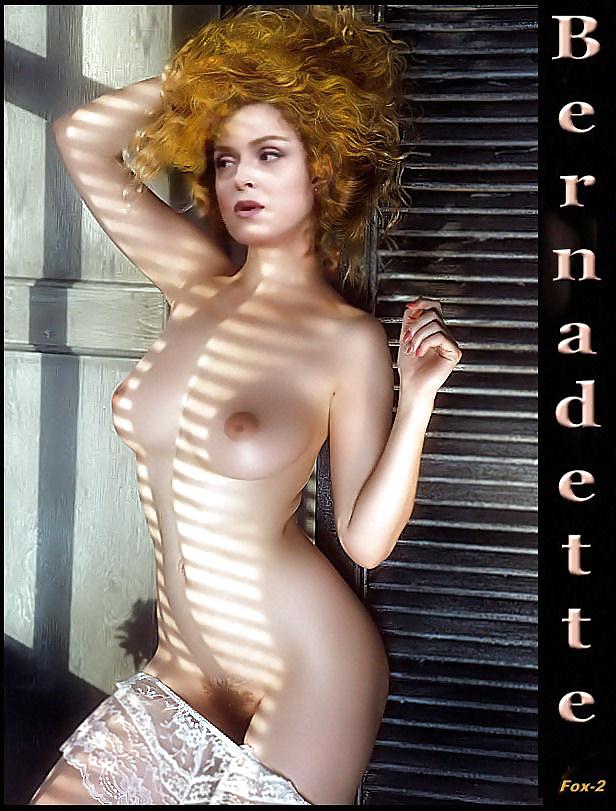 Bernadette peters topless pornhub, treesome sexx