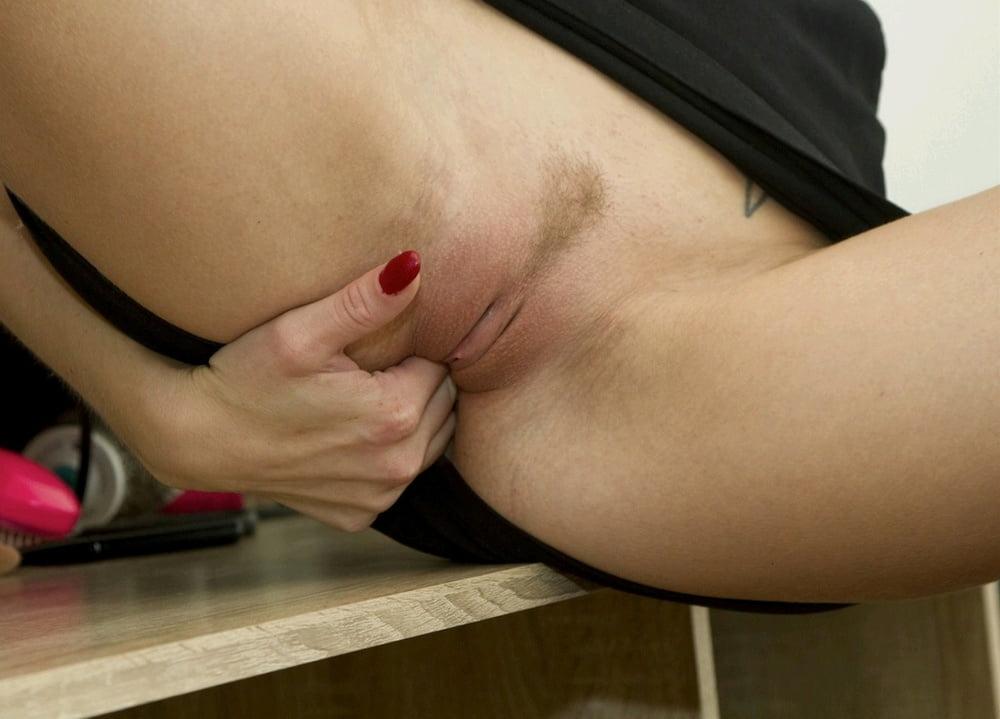 Woman masturbating on hidden camera-8142