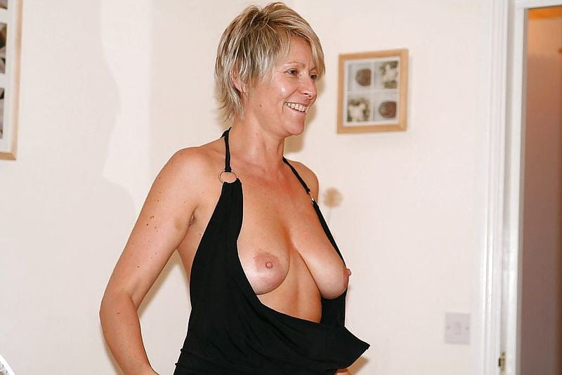 Short Haired Blonde Mature Pics
