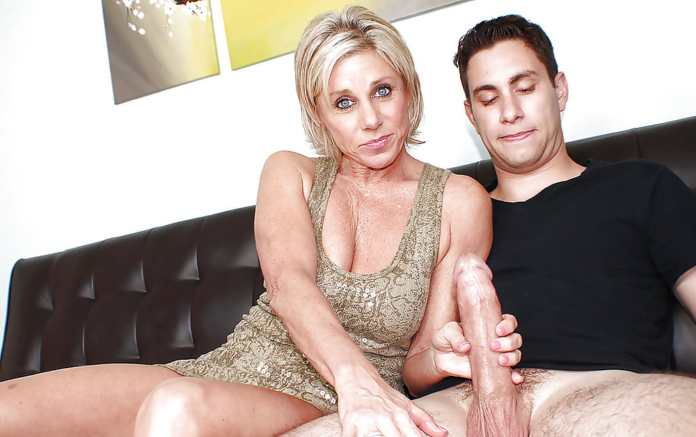 Dirty Milfs Are Jerking Off Young Cocks