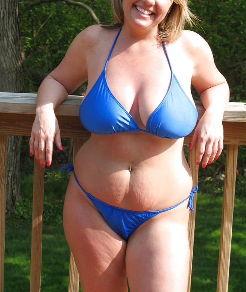Bbw bikini pictures, sexy sex vidios